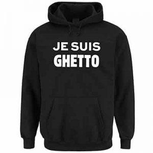 Hoodie Herren Ghetto
