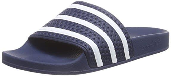 adidas Herren Adiletten blau classic