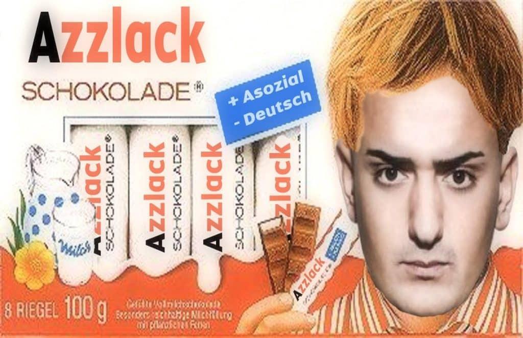 Azzlack Bedeutung schokolade haftbefehl lustig Azzlackz Azzlacks stereotyp