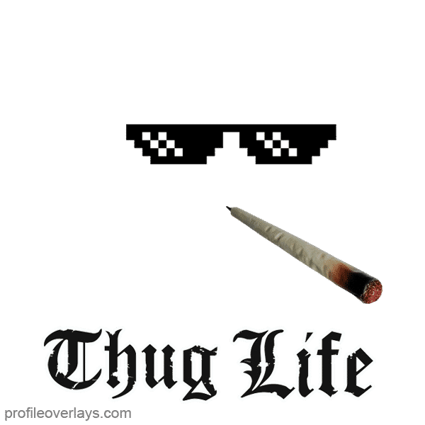 Thug Life Brille Bedeutung