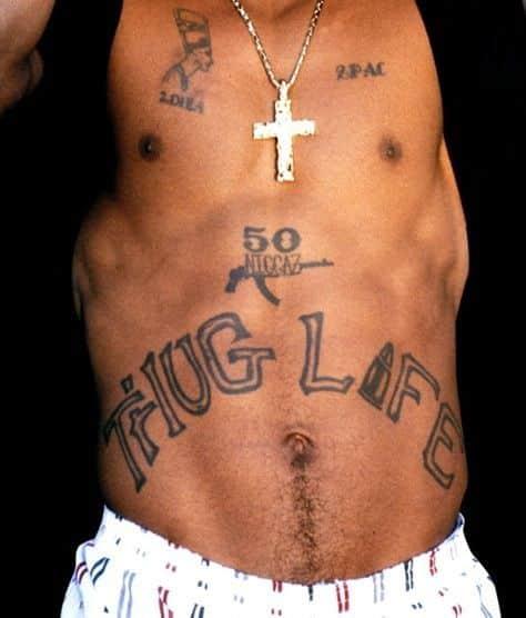 Thug Life Tattoo 2Pac