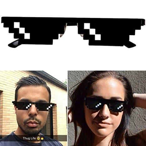 Pixelbrille thug Life