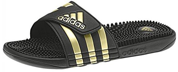 Adiletten-Gold-Herren-Damen-Adidas-Badelschlappen-adilette