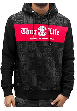 Thug-Life-Hoodie-Herren
