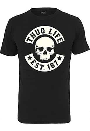 Thug-Life-Tshirt-Herren-schwarz