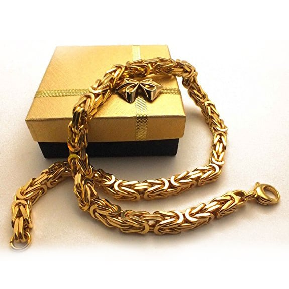 Königsketten-Silber-Königsarmband-Herren-925