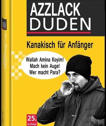 Azzlack-Duden-Brudi-kanaken
