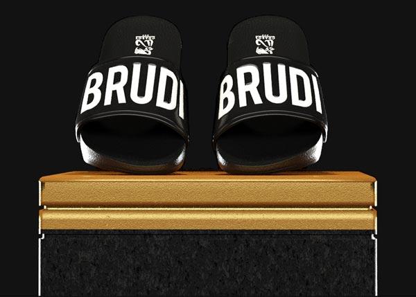 Brudiletten-Black-schwarz-auf-Säule-mobil
