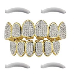 Grillz Diamond Gold