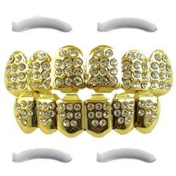 Grillz gold diamant